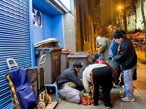 Los 'nuevos' pobres, un fenómeno que crece en el estado español 9