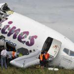 Ningún fallecido tras partirse el avión del vuelo BW523 10