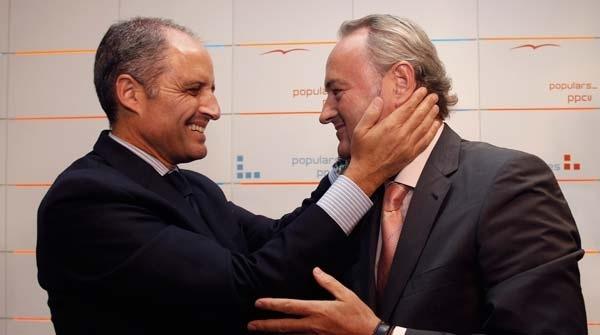 Camps dimite como president del Consell y del PPCV y A. Fabra será su sucesor 2