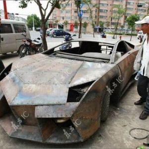 ⭐ Chino Entusiasta construye 🛠 Lamborghini Reventon 🏎 23