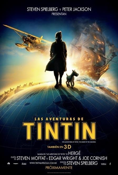 """Trailer y Estreno """"Las Aventuras de Tintín: El Secreto del Unicornio"""" 11"""