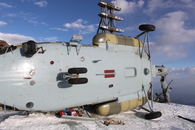 Helicóptero perdido en la nieve - Noticias Curiosas