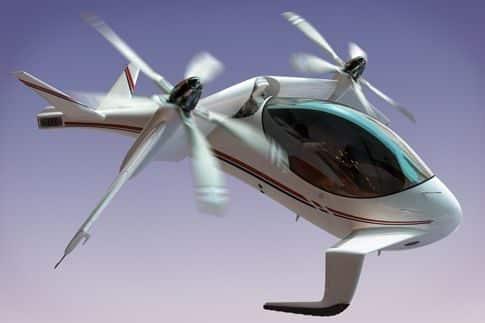El helicóptero eléctrico-solar 4