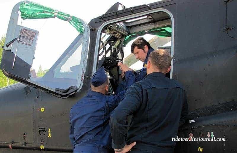 El centro de entrenamiento de vuelo en Torzhok Rusia 40