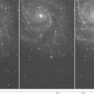 Descubren supernova que estalló cerca de la Tierra 27