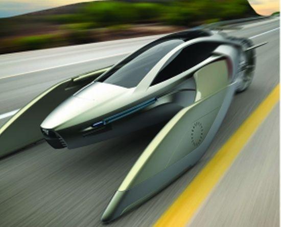 YEE el coche volador de diseño Chino 10