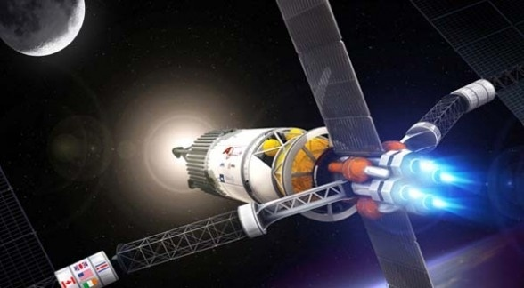 Viaje a Marte en 39 dias con motor de plasma 11