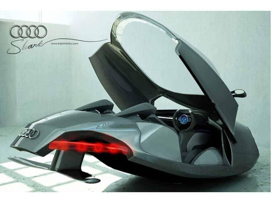 Audi Shark Concept el Coche volador 16