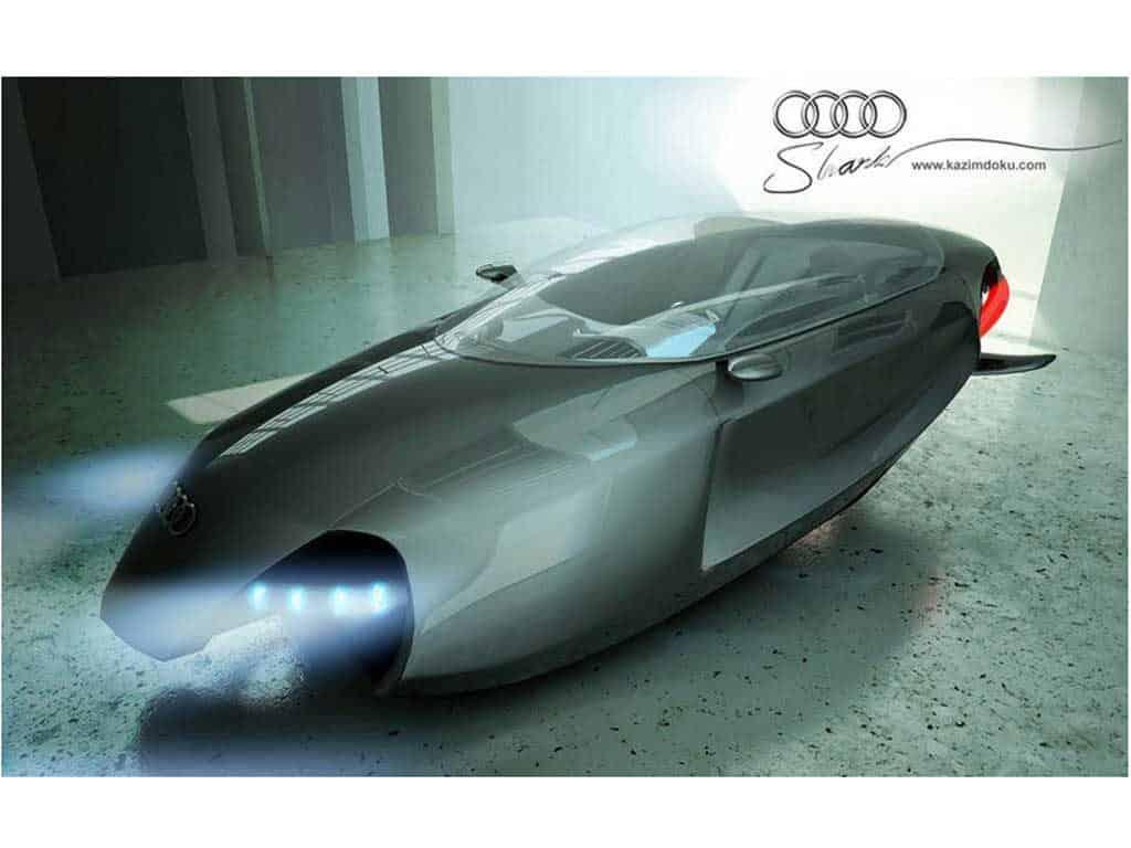 Audi Shark Concept el Coche volador 17