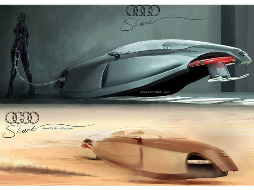 Audi Shark Concept el Coche volador 18