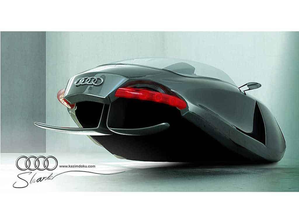 Audi Shark Concept el Coche volador 4
