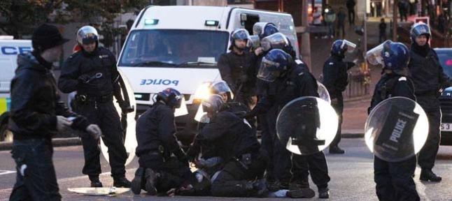 Los disturbios de Londres se extienden a otras 4 ciudades 2