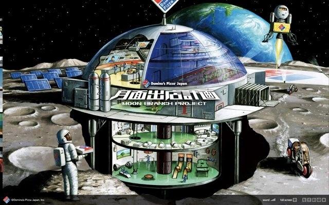 Una Pizzería en la Luna 13