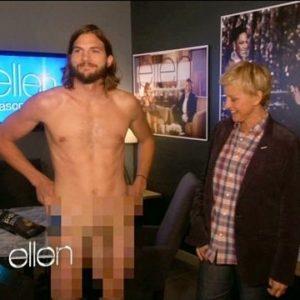 Ashton Kutcher responde a Demi Moore con un desnudo integral 26
