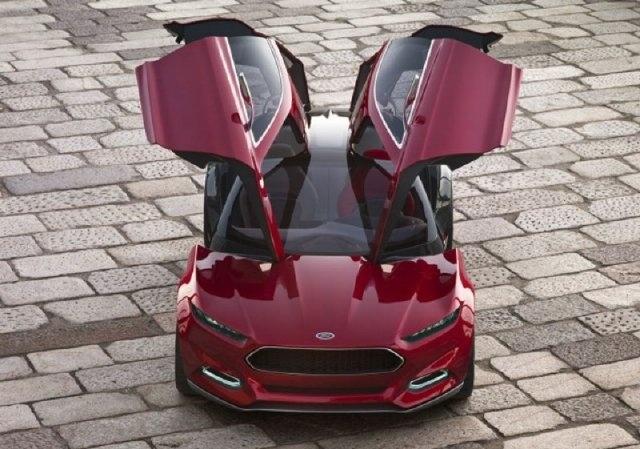 Ford presentará el Evos Concept en el Salón de Frankfurt 12