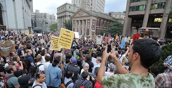 52c96c35c30d11cfb13711cfa4231ac4 - Ganan fuerza las protestas en EEUU