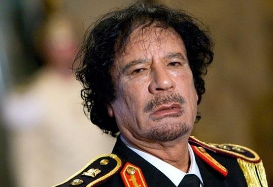 Muamar Gadafi, muerto 17