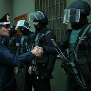 Parece que la policia extranjera antimotines ya está operando en Grecia 3