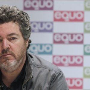 Juan López de Uralde en la presentación del programa electoral de Equo