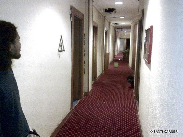 El 'okupado' Hotel Madrid abre sus puertas a la primera desahuciada 2