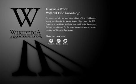 Disminuye el apoyo a la Ley SOPA tras las protestas en EEUU 13