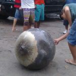 Un extraño objeto metálico cayó en un pueblo de Brasil 10
