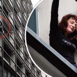 Grecia en el abismo: mujer intenta tirarse desde un edificio 34