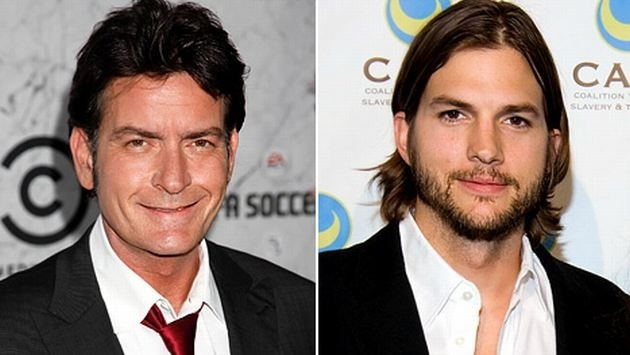 Charlie Sheen Ashton Kutcher es horrible 11