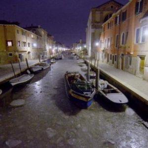 Se congeló Venecia 22
