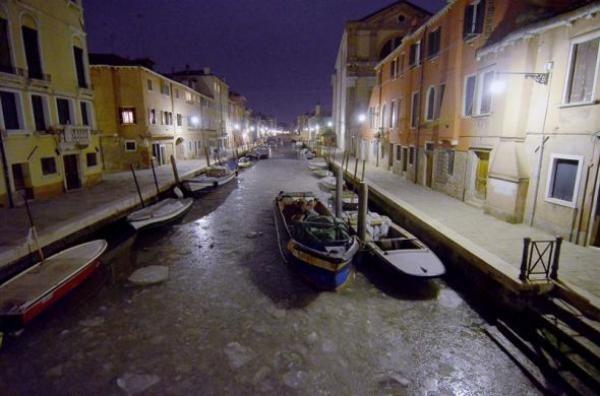 Se congeló Venecia 3