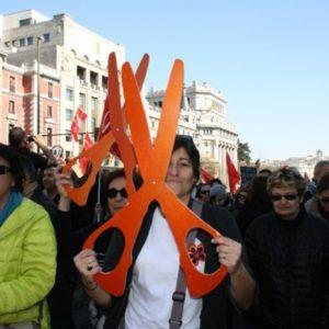 Más de medio millón de personas en Madrid dice 'no' a la reforma laboral 21