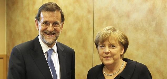 Merkel aplaude la reforma laboral de Rajoy y la pone como ejemplo 12
