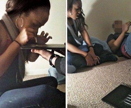 Pillan a la hija de Whitney Houston tomando drogas después del funeral 17