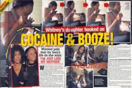 Pillan a la hija de Whitney Houston tomando drogas después del funeral 16