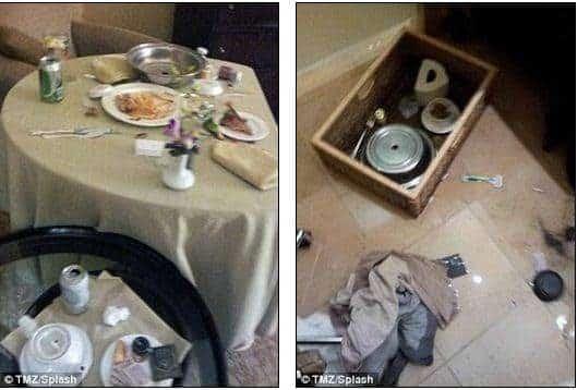 noticias fotos de la habitación donde murió Whitney Houston