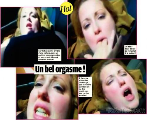 Adele fue cazada practicando sexo en un coche 2