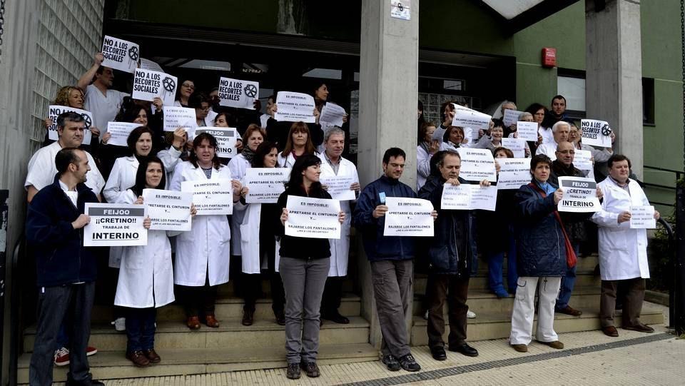 Concentraciones de protesta de miles de funcionarios en toda Galicia 19
