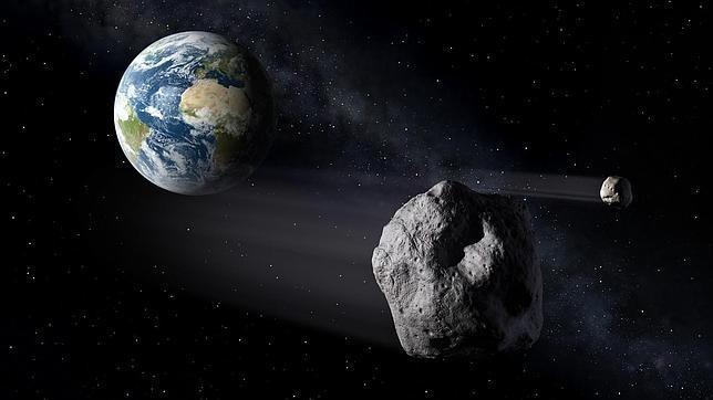 Un enorme asteroide podría impactar en la Tierra en 2040 1