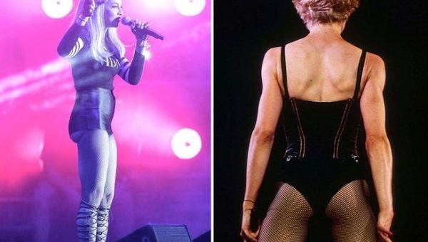 Madonna no logra disimular el paso del tiempo 12