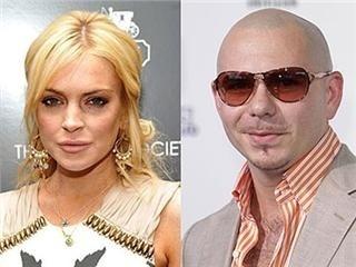 Pitbull pide que se desestime la denuncia que le puso Lindsay Lohan 2