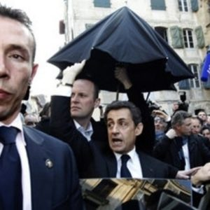 Sarkozy se esconde en un bar tras ser abucheado por cientos de personas 28