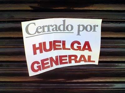 La importancia de la huelga general 13