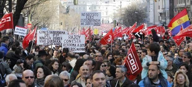 La crisis dispara las protestas y ya deja una media de 60 al día 10