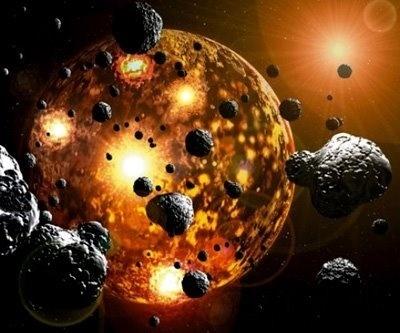 4,500 millones de años de evolución lunar en 3 minutos 14