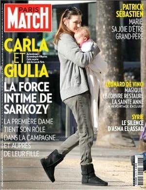 noticias Carla Bruni enfadada por la publicación de fotos de su bebé