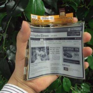 LG fabrica pantallas de plástico que se doblan 22