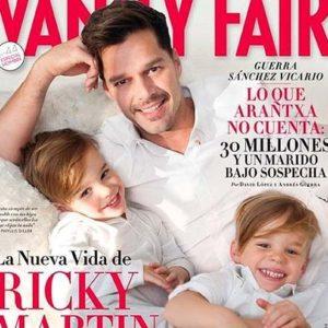 Ricky Martín posó con su novio y sus hijos 22