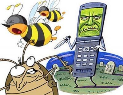 da97735e760521771106c5ec07e11677 - Humanidad en peligro los móviles matan a abejas y cucarachas