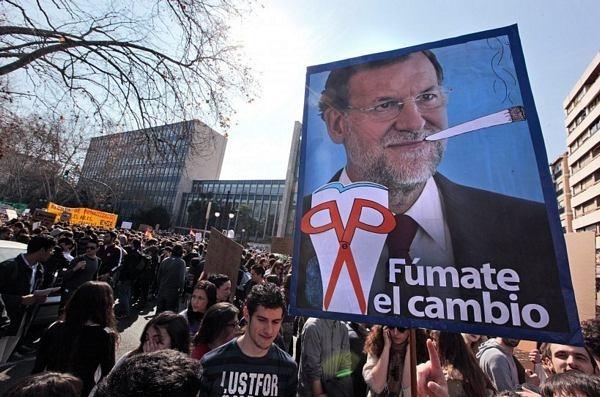 f11a6d44839717be472e282e358dc0ab - Los españoles vuelven a las calles contra los recortes