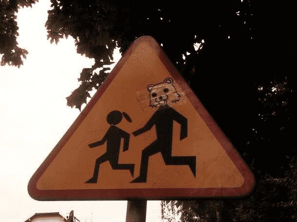 Fotos de señales de advertencia graciosas